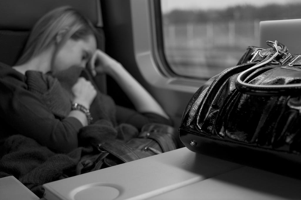 Portrait dans le TGV
