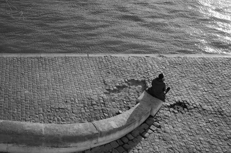 Toboggan sur les quais